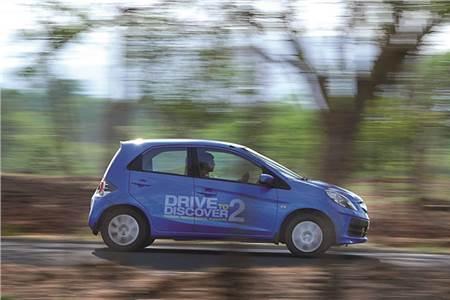 Honda Brio drive to discover
