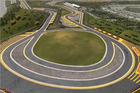 Buddh International Circuit with Mark Webber