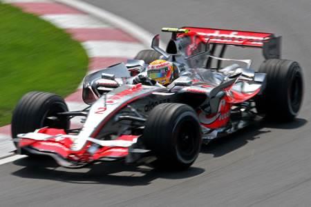 Lewis Hamilton in Bangalore