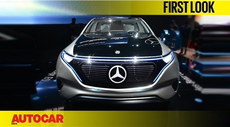 Mercedes-Benz EQ Concept first look video