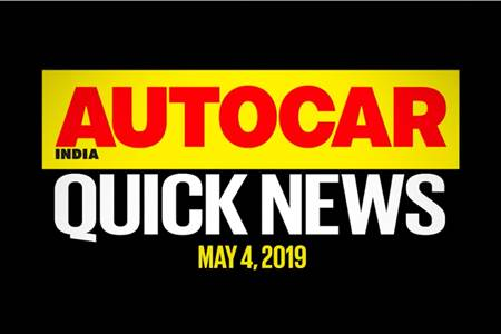 Quick News video: May 4, 2019