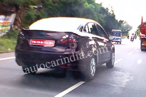 SCOOP! All-new Ford Fiesta spied