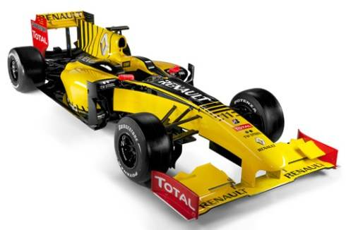 Renault unveils its 2010 F1 car