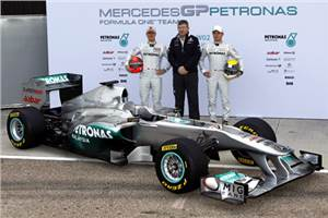 Mercedes MGP W02 launched
