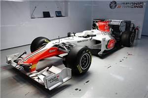 Hispania unveils its 2011 F111
