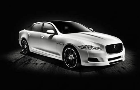 Jaguar shows XJ75 Platinum Concept