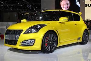 Suzuki Swift S-concept revealed