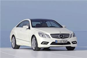 E-class Coupe makes Indian debut