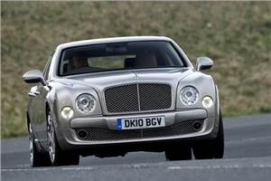 Bentley Mulsanne test drive