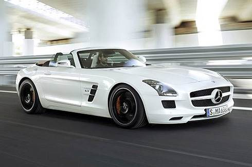 Mercedes SLS Roadster revealed