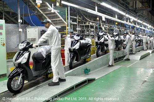 Honda's second bike plant opens