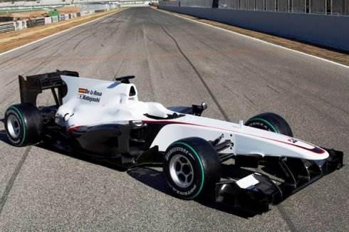 BMW Sauber launches C29 car