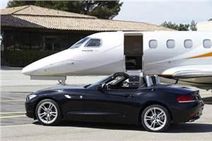 BMW designs aeroplane interiors