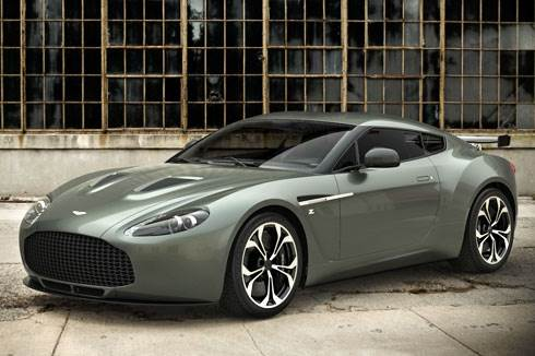 Aston Martin V12 Zagato revealed