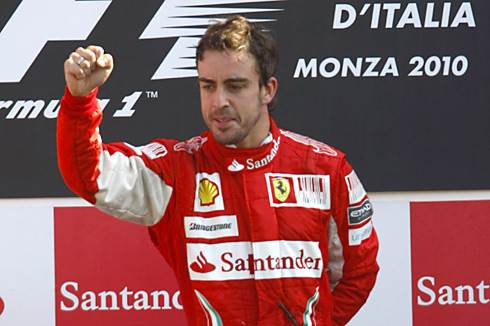 Alonso wins Italian GP