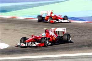 Alonso wins Bahrain GP