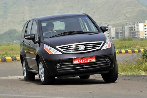 Tata Aria test drive and review
