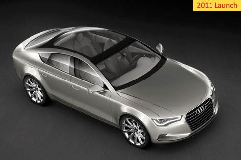 Audi A7 slated for 2011 launch