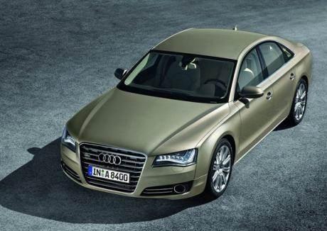 New Audi A8 revealed