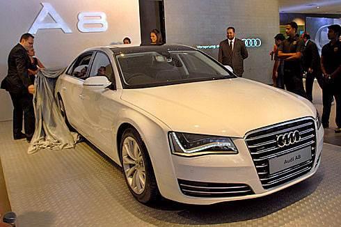 Audi launches A8 L W12 Quattro