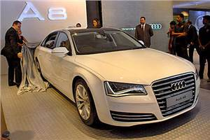 New Audi A8L test drive, review