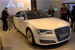 Audi India launches A8 L saloon