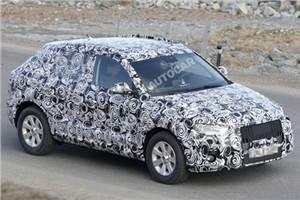 Audi new Q3 SUV spy pictures