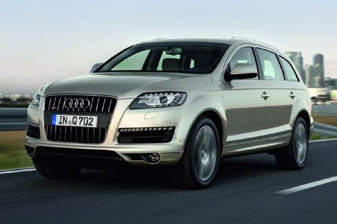 Audi launches supercharged Q7