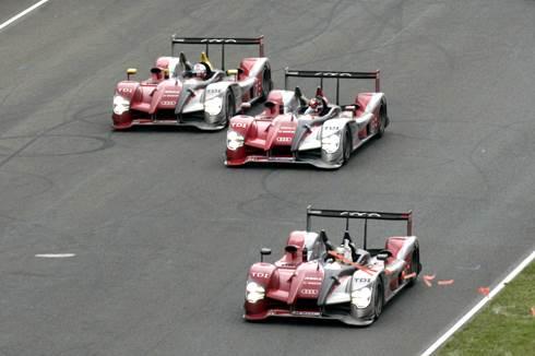 Audi wins Le Mans 24 Hours