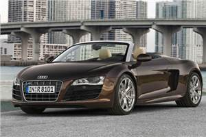 Audi launches R8 Spyder