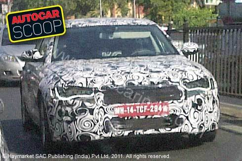 SCOOP! New Audi A6 spotted