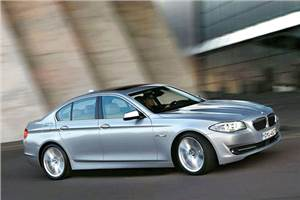 All-new BMW 5-series unveiled