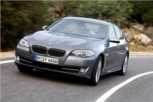 BMW 535i Test drive