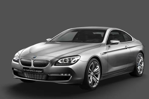 BMW Concept 6-series revealed
