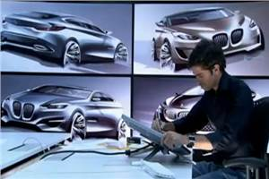 BMW shows new Design Sketches