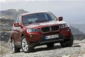 BMW shows new X3