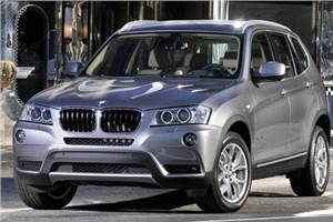 BMW X3 to be assembled in India
