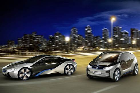 BMW unveils mobility of the future