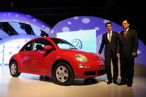 VW launches the Beetle, Touareg