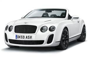 Bentley's Supersports Convertible