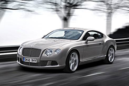New Bentley Continental revealed
