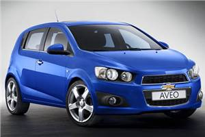 New Chevrolet Aveo launched
