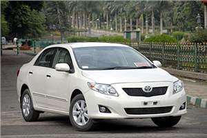 Corolla diesel starts at Rs10.95L