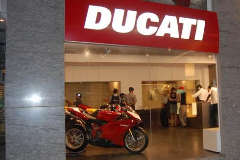 Ducati opens showroom in NCR