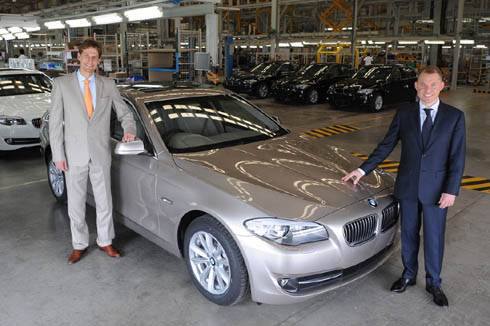 10,000th BMW rolls off the line
