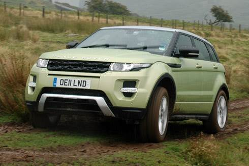 Evoque review and test drive