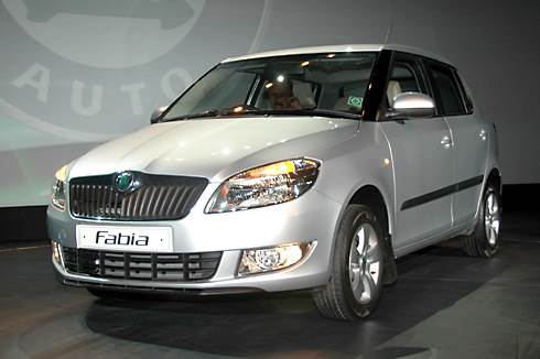 Restyled, powerful Fabia launched