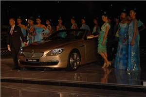 BMW unveils 6-series convertible