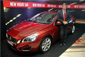 Volvo launches S60 saloon in India