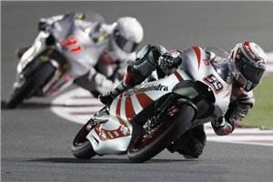 India tastes Moto GP blood